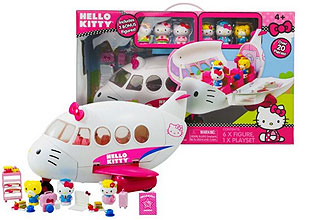 hello kitty airlines play set