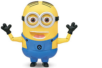 minion dave talking action figure