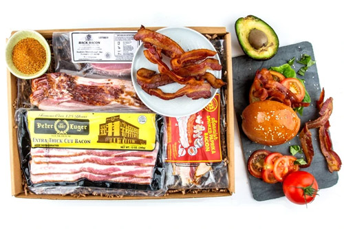 12 best gift baskets mouth bacon in a box