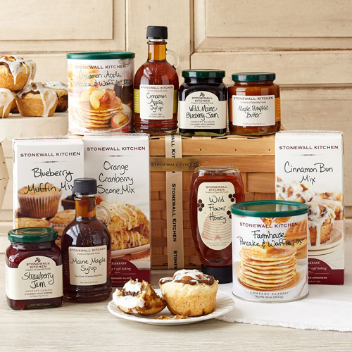 12 best gift baskets stonewall kitchen new england morning gift