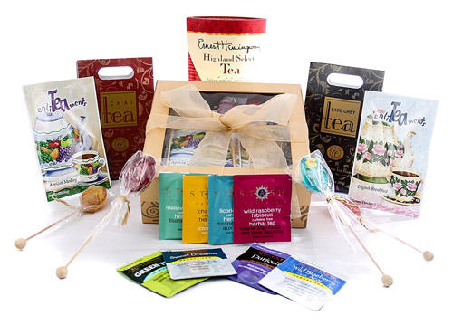 15 best tea gift gourmet tea lovers gift gold box with bow