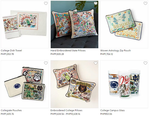 3rd anniversary gift ideas carmel and terrell swan hand embroidered state pillows