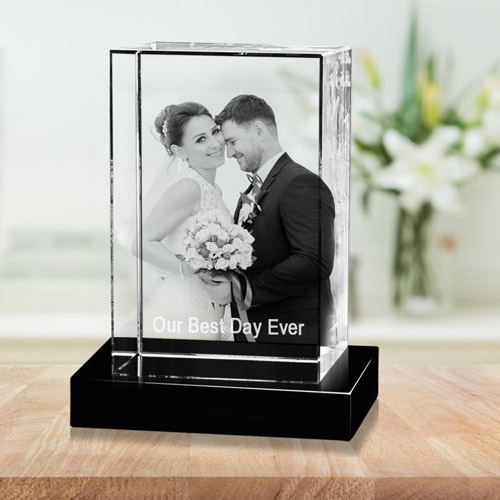 3rd anniversary gift ideas the 3d gift anniversary portrait